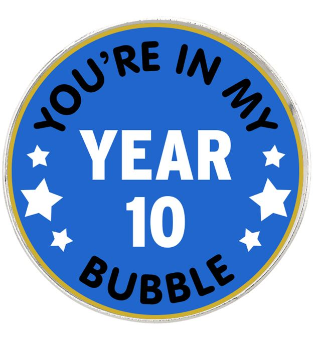 "You're In My Bubble School Pin Badge 2.5cm (1"")"