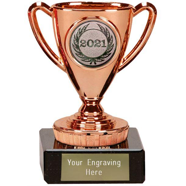 "2021 Bronze Mini Cup Trophy 10cm (4"")"