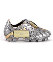 "Resin Silver Premier Football Boot 12.5cm (5"")"