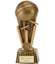 "Antique Gold Focus Cricket Ball Trophy 16.5cm (6.5"")"
