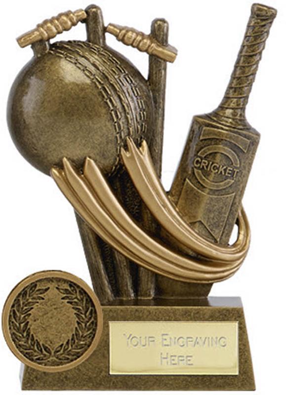 """Epic Resin Cricket Trophy 11.5cm (4.5"""")"""