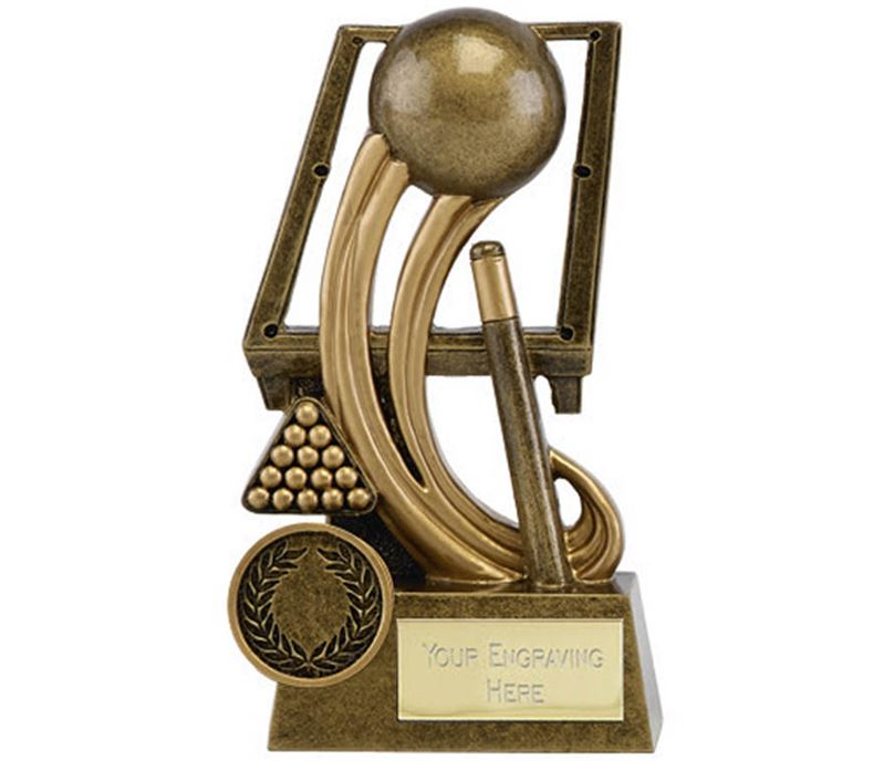 """Epic Resin Pool and Snooker Trophy 14cm (5.5"""")"""