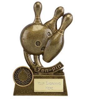 "Epic Resin Ten Pin Trophy 14cm (5.5"")"