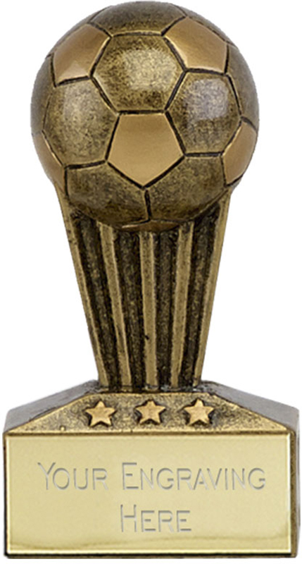 "Micro Trophy Football Award 7.5cm (3"")"