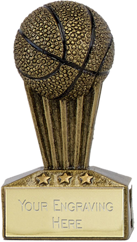 "Micro Trophy Basketball Award 7.5cm (3"")"