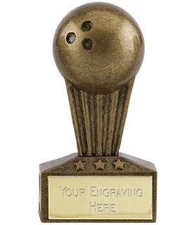 "Micro Trophy Ten Pin Award 7.5cm (3"")"