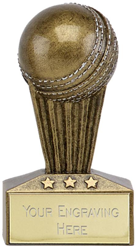 "Micro Trophy Cricket Award 7.5cm (3"")"