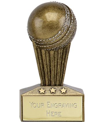 "Micro Trophy Cricket Award 7.5cm (3"")"