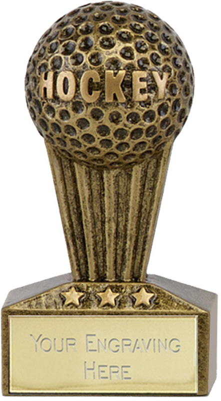 "Micro Trophy Field Hockey Award 7.5cm (3"")"