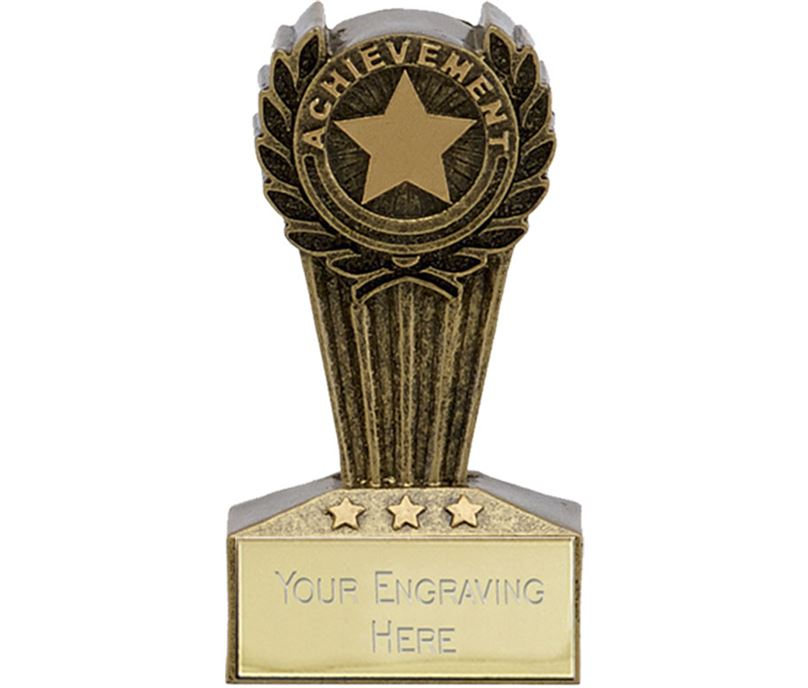 "Micro Trophy Achievement Award 7.5cm (3"")"