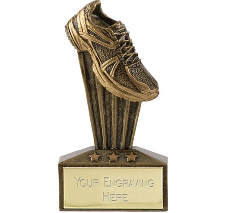 "Micro Trophy Running Shoe Award 7.5cm (3"")"
