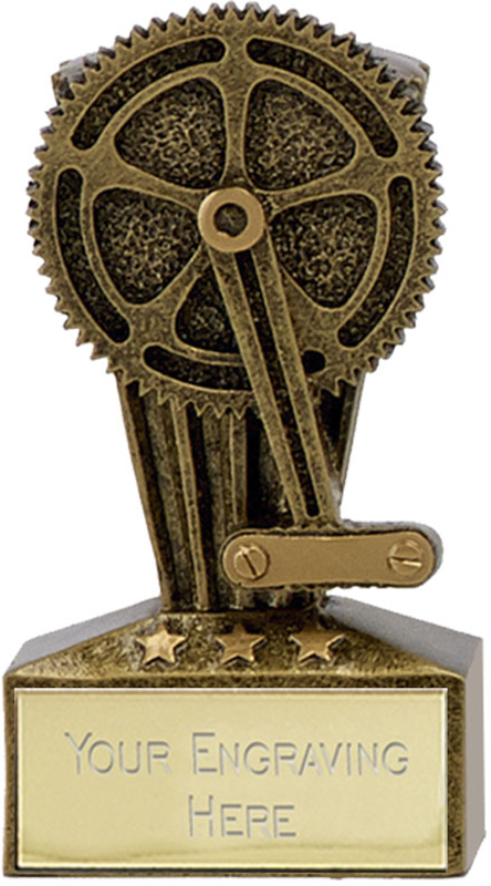 "Micro Trophy Cycling Award 7.5cm (3"")"
