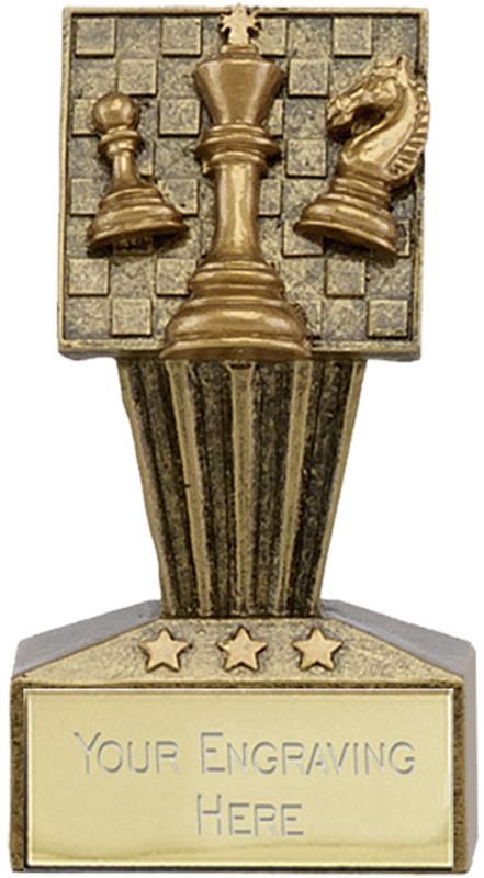 "Micro Trophy Chess Award 7.5cm (3"")"
