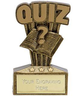 "Micro Trophy Quiz Award 7.5cm (3"")"