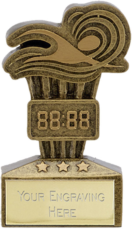 "Micro Trophy Swimming Award 7.5cm (3"")"