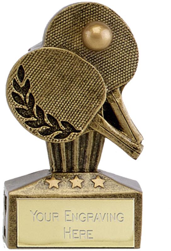 "Micro Trophy Table Tennis Award 7.5cm (3"")"