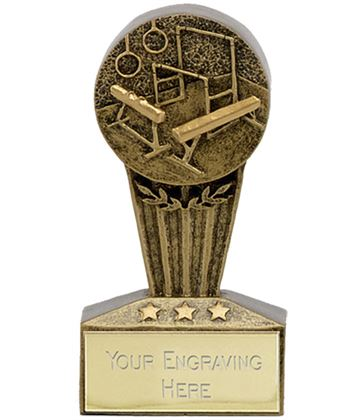 "Micro Trophy Gymnastics Award 7.5cm (3"")"