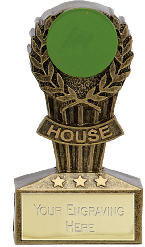 "Micro Trophy Green House Award 7.5cm (3"")"