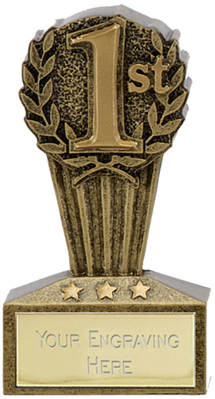 "Micro Trophy First Award 7.5cm (3"")"