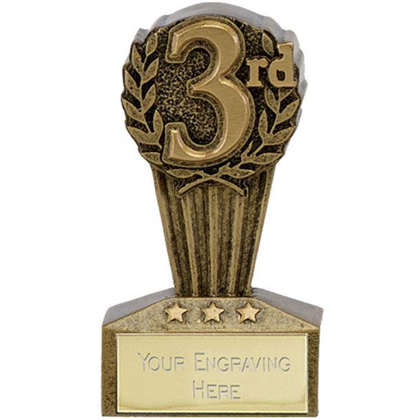 "Micro Trophy Third Award 7.5cm (3"")"