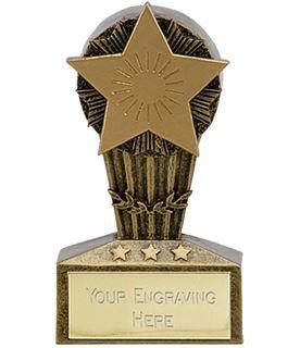 "Micro Trophy Star Award 7.5cm (3"")"