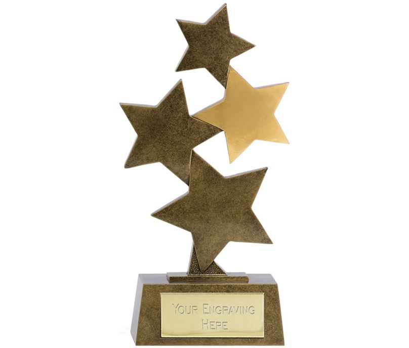 "Starburst Resin Multi Award 19cm (7.5"")"
