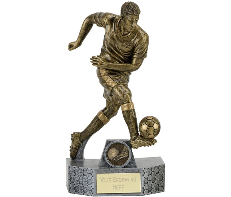 "Delta Football Trophy 18cm (7"")"