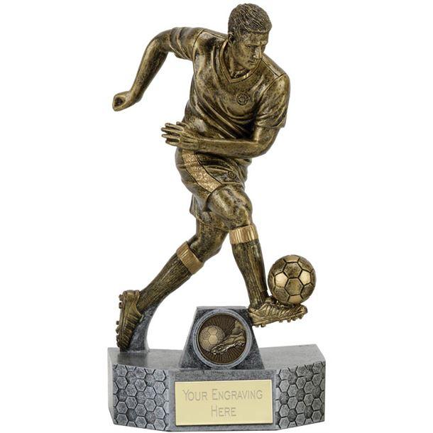 "Delta Football Trophy 25cm (9.75"")"