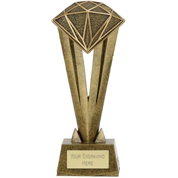 "Cherish Diamond Trophy 22cm (8.75"")"