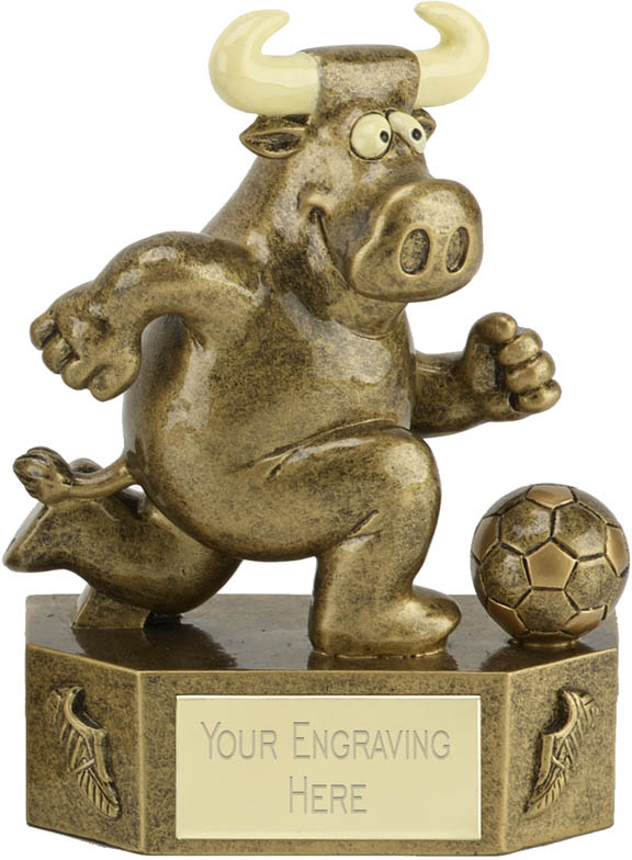 "Prize Bull Footballer Trophy 12.5cm (5"")"