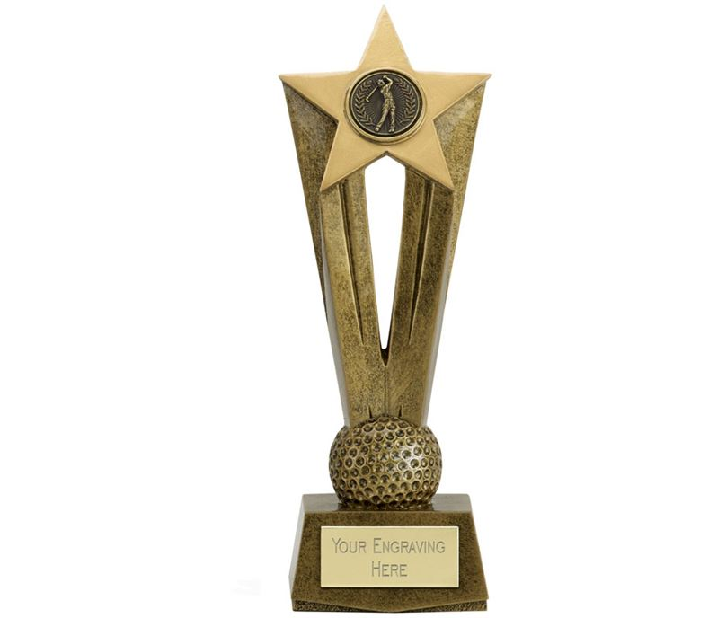 "Cherish Star Golf Trophy 19.5cm (7.75"")"