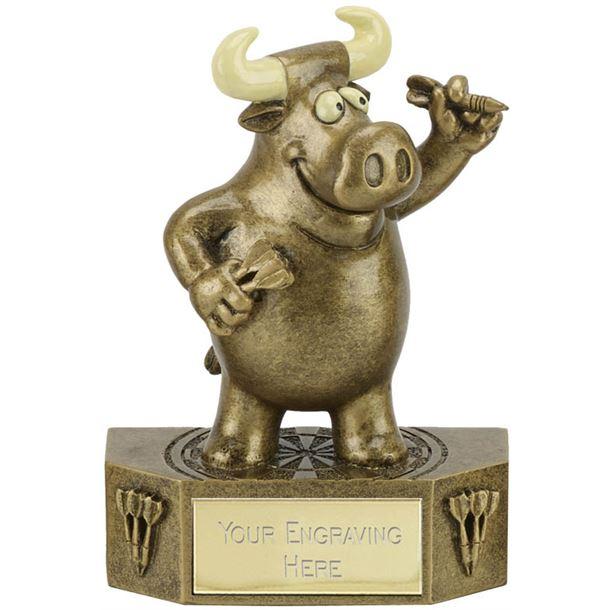 "Prize Bull Darts Trophy 12.5cm (5"")"