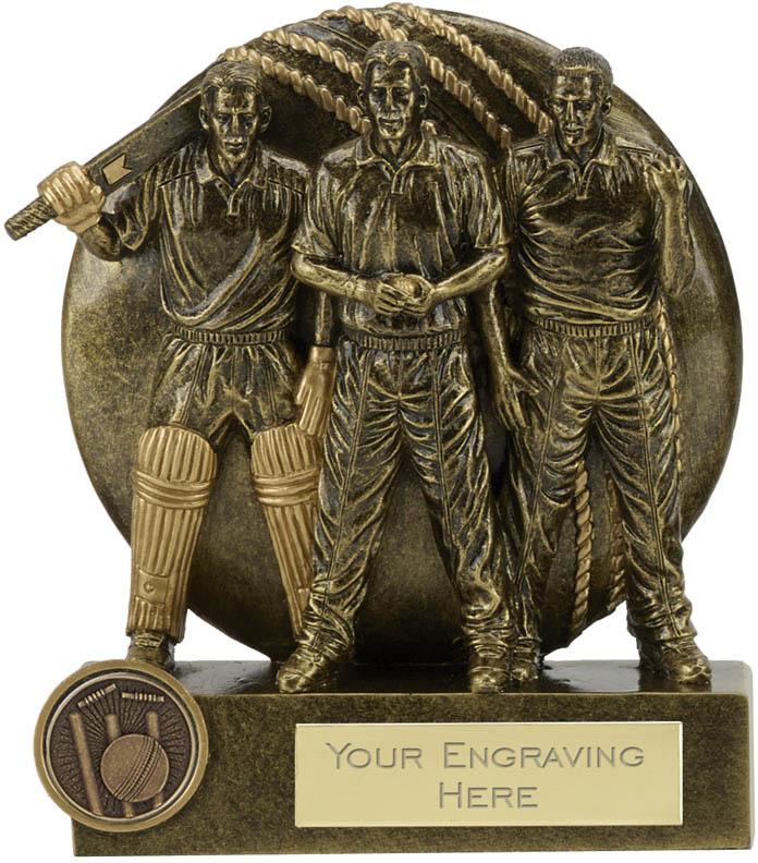 """Team Spirit Cricket Trophy 14cm (5.5"""")"""