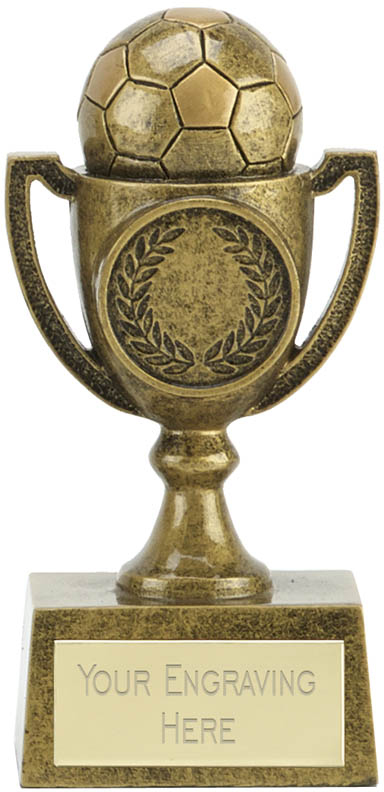 "Joy Cup Football Trophy 11cm (4.25"")"