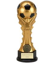 "3D Football Celebration Tower Trophy 20cm (8"")"