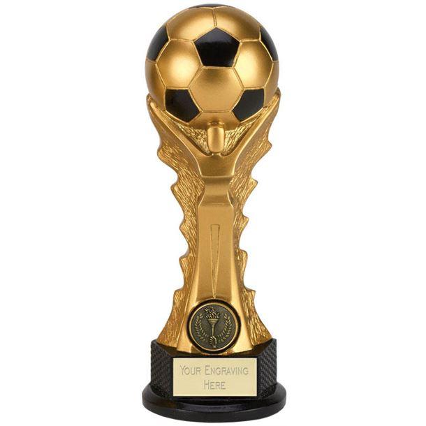 "3D Football Celebration Tower Trophy 14.5cm (5.75"")"