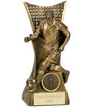 """Action Football Antique Gold Conqueror Award 16cm (6.25"""")"""