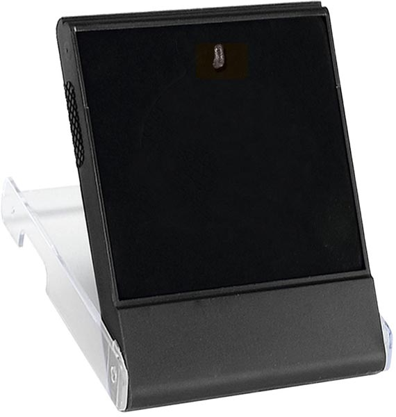 Plastic Medal Box with Clear Lid and Black Insert for 50mm Medals