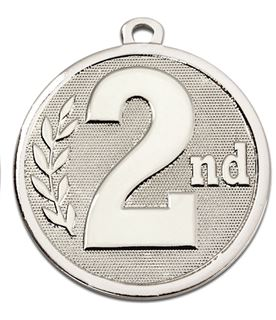 "Silver Galaxy 2nd Place Medal 45mm (1.75"")"