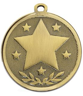 "Bronze Galaxy Stars Medal 45mm (1.75"")"