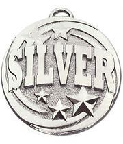 "Silver Target Medal 50mm (2"")"