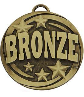 """Bronze Target Medal 50mm (2"""")"""