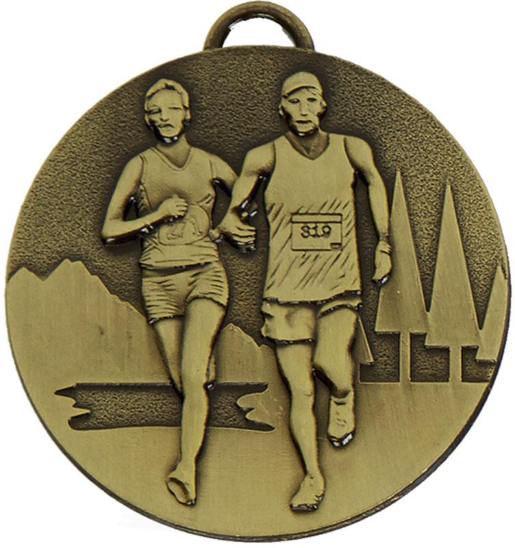 "Bronze Target Cross Country Medal 50mm (2"")"
