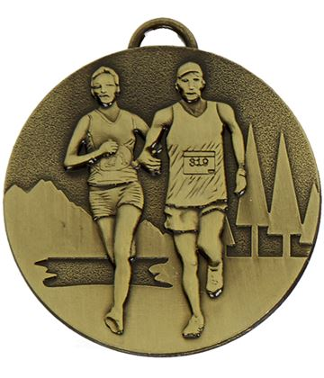 "Bronze Target Cross Country Medal 50mm (2"")"