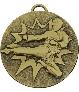 """Bronze Target Karate Medal 50mm (2"""")"""