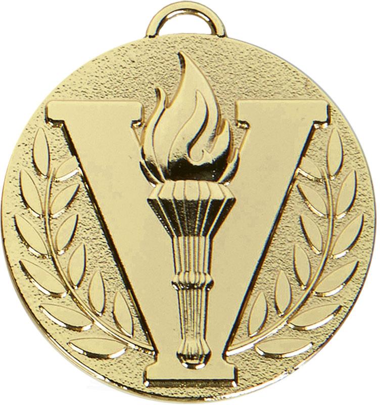 "Gold Target Victory Medal 50mm (2"")"