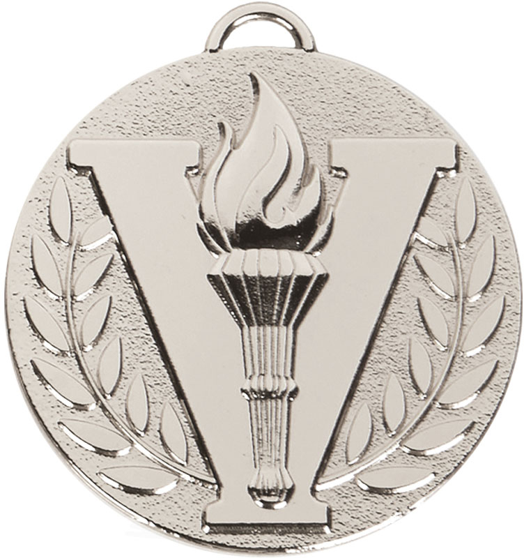 "Silver Target Victory Medal 50mm (2"")"