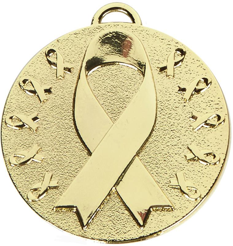 "Gold Target Awareness Medal 50mm (2"")"