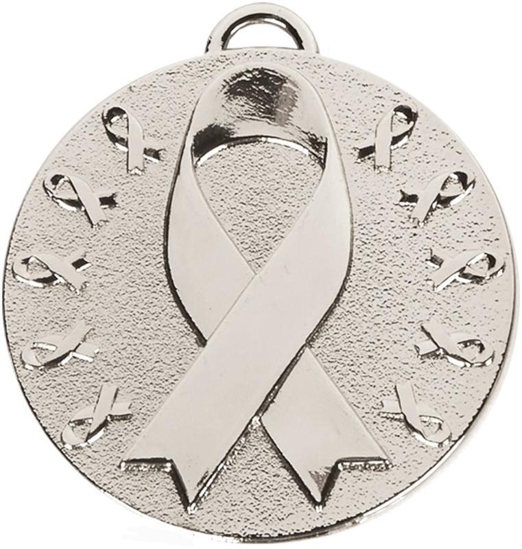 "Silver Target Awareness Medal 50mm (2"")"
