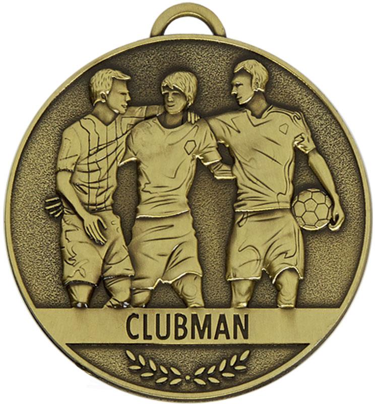 "Team Spirit Clubman Medal 60mm (2.25"")"